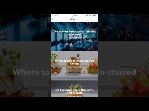 Eat App - Discover and book your table