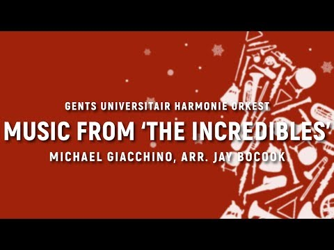 Music from 'The Incredibles' - Michael Giacchino, arr. Jay Bocook | GUHO