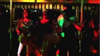 Girl's Cruise - Carol's lap dance :-)