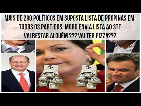 More than 200 politicians and 24 political parties in two cash list!