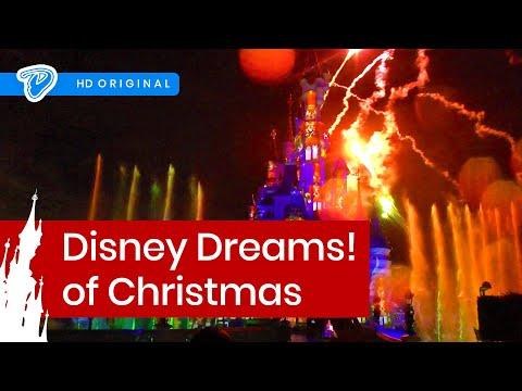 Disney Dreams! of Christmas Disneyland Paris FULL SHOW - featuring Frozen Disney Dreams! Fête Noël