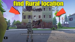 Fortnite Save The world how to find rural location -Daily Quest- Part 4