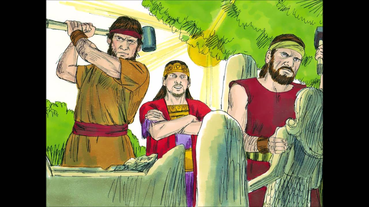 Bible lesson josiah finds the law of the lord - King Josiah And The Scroll Of The Law Bible Stories Told For Children