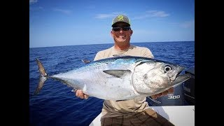 Deep Sea Fishing- Sharks, Snapper and Bonita  {Catch Clean Cook}
