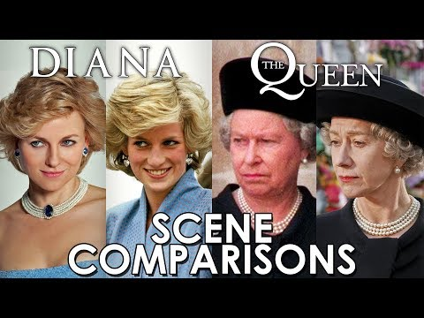 Diana (2013) and The Queen (2006) - scene comparisons