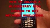 How to unlock blackberry pearl 8100 via network unlock code all 304 fandeluxe Image collections