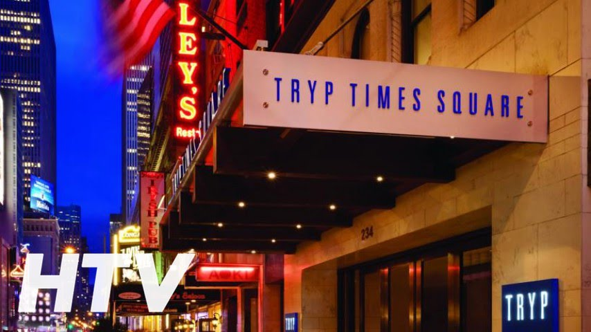 hotel tryp new york times square youtube. Black Bedroom Furniture Sets. Home Design Ideas