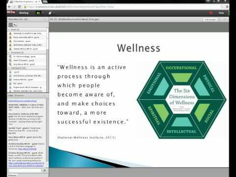 Wellness Strategies, Burnout Prevention, & Mindfulness-Part 2