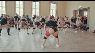 The craziest twerk class - Tinze Twerkshop | Helsinki 5/2019
