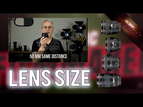 Camera Lens Size - 50mm and 85mm - What's The Difference?