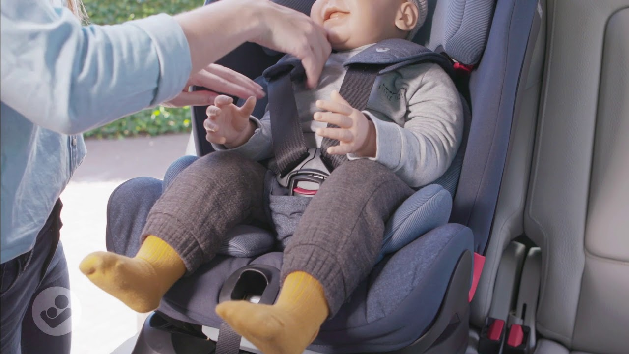Maxi Cosi Titan Car Seat How To Buckle Up Recline Youtube