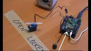 EasyVR Shield for Arduino - Access Control Demo