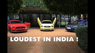 LOUDEST BMW M5 in India | #145