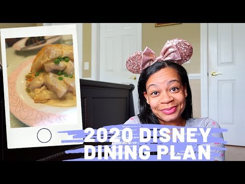 Disney Dining Plan 2020 Prices And Overview!
