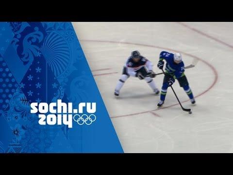 Ice Hockey - Men's Group A - Slovakia v Slovenia | Sochi 2014 Winter Olympics