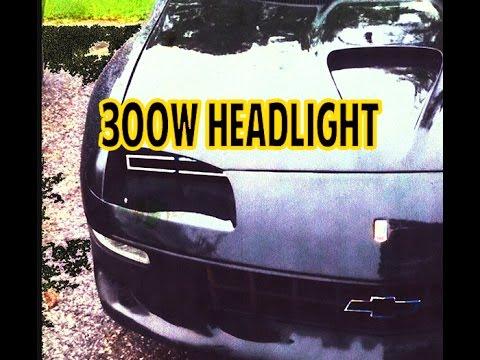 300w Lt1 Camaro Prototype Headlights Pt1
