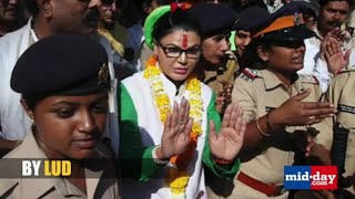 Arrest warrant issued against Rakhi Sawant