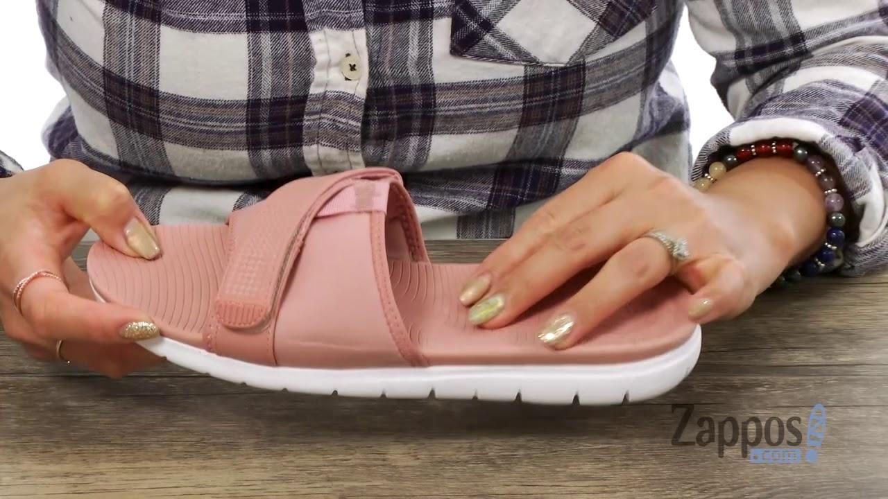 876163dcfb51 FitFlop Neoflex Slide Sandals SKU  9020945 - YouTube