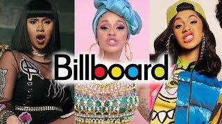 Cardi B - Billboard Chart History