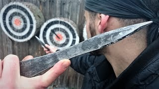 NO SPIN Knife Throwing Tutorial (For Beginners/Advanced) By World Champion Adam Celadin
