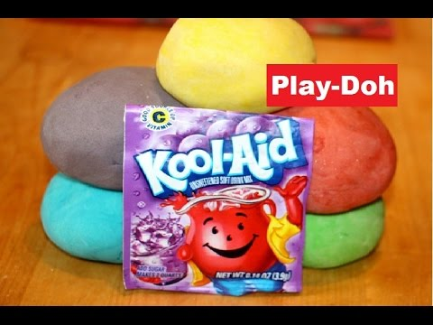 How To Make Playdough With Koolaid Recipe At Home No Bake Without