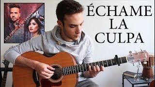 Luis Fonsi Demi Lovato chame La Culpa Fingerstyle Guitar Cover.mp3