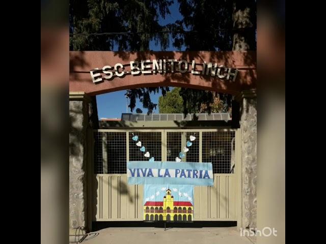 La Esc. Benito Linch de Astica y su festejo virtual por la Gesta de Mayo