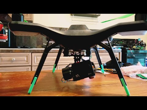 3DR Solo Aftermarket Gimbal Modification For Hero 7