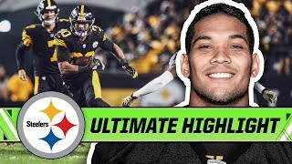 James Conner's Best Plays of 2018   Pittsburgh Steelers