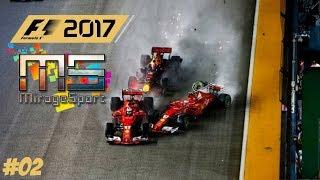 """F1 2017 // """"KIÉGETŐS"""" FELKÉSZÜLÉS A MIRAGESPORT.TV LIGÁRA // #2"""