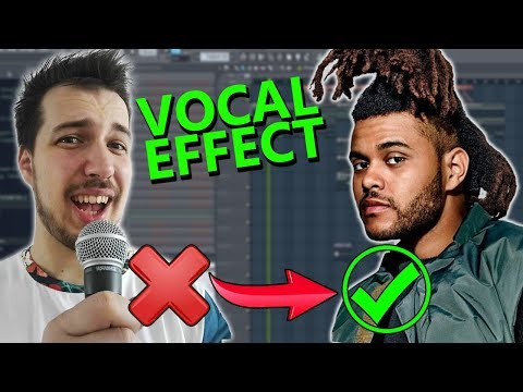 How to make VOCALS like The Weeknd (if you cant sing) - FL Studio Tutorial