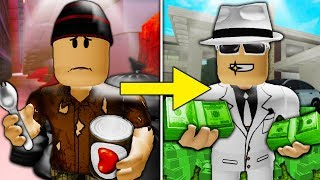 POOR TO RICH PART 3: UN NUOVO BOSS IN TOWN (Un triste film di Roblox Jailbreak)