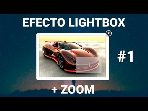Galeria De Imagenes Lightbox Con Efecto De Zoom - ( Html Y Css ) ( Parte 1 )