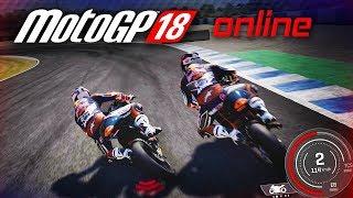 INCREDIBLE ONLINE RACE - MotoGP 18 Gameplay