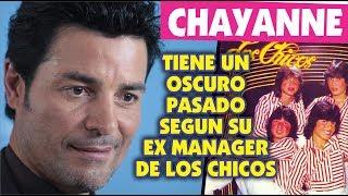 chayanne tiene un pasado oscuro segun su ex manager del grupo los chicos
