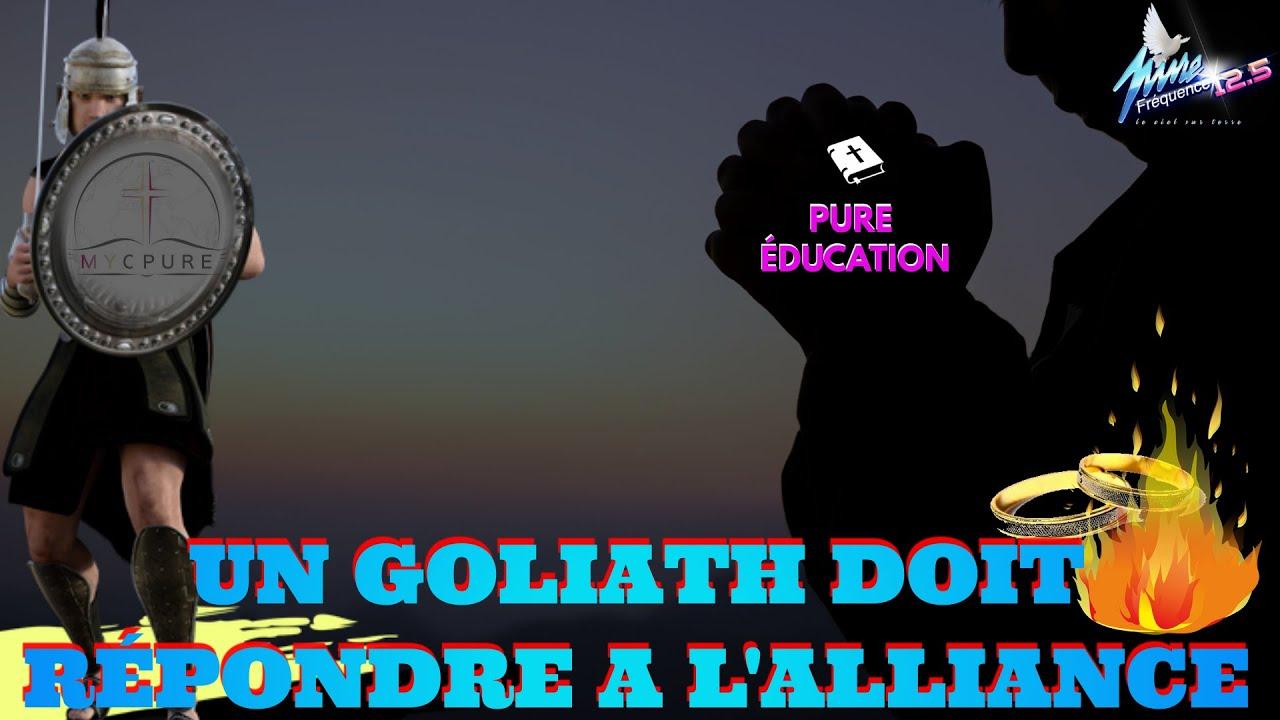 PURE EDUCATION :  UN GOLIATH DOIT RÉPONDRE A L'ALLIANCE