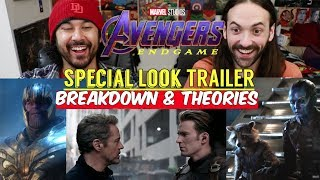 Avengers: Endgame (SPECIAL LOOK) - BREAKDOWN & THEORIES!!!
