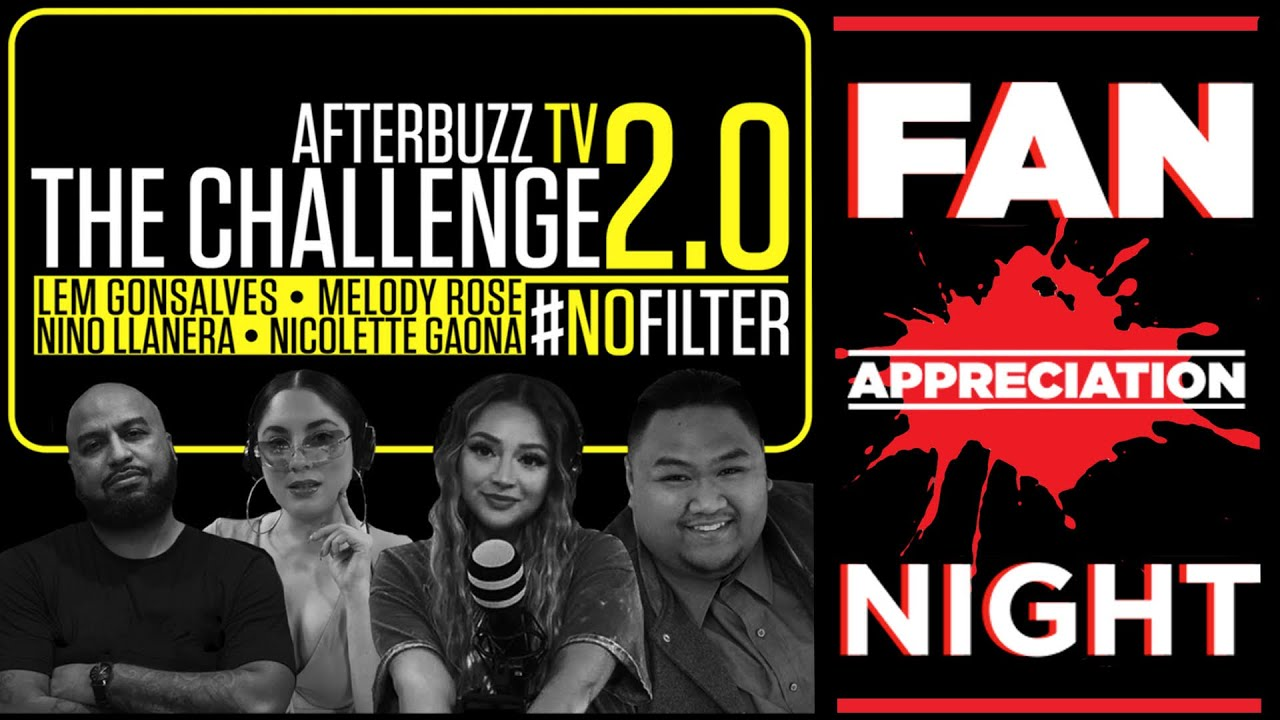 The Challenge Season 35 Episode 14 | #NoFilter Fan Appreciation Night || Afterbuzz TV