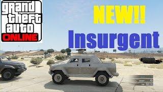 """GTA 5 Heists DLC """"HVY Insurgent"""" -  GTA Online Heists DLC - APC/Tank"""
