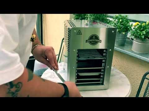 Oberhitzegrill Jamestown BRAD Grill für 300 Euro - Unboxing - 030 BBQ
