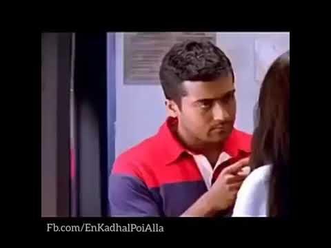 Romantic tamil whatsapp status | vaaranam aayiram - surya proposal scene | whatsapp status
