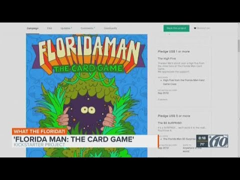PM Tampa Bay with Ryan Gorman - Kickstarter Campaign Underway For Florida Man Card Game