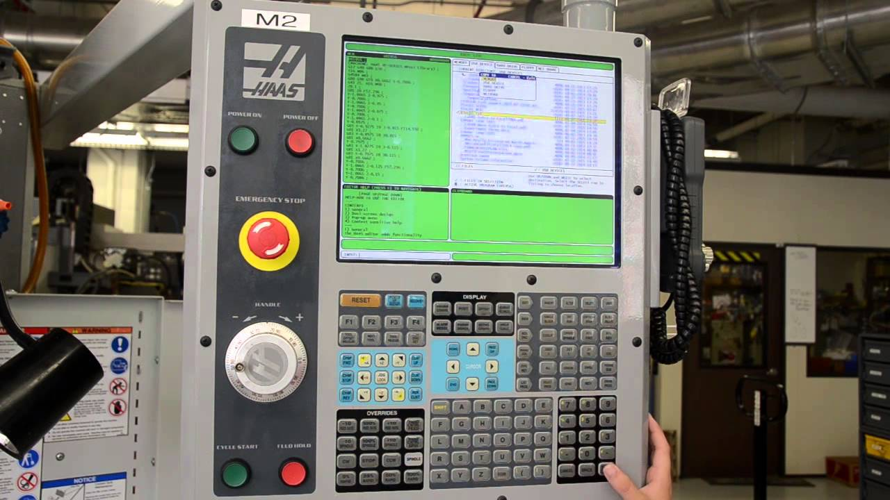 Part 1: How to Load a Program into the CNC Milling Machine