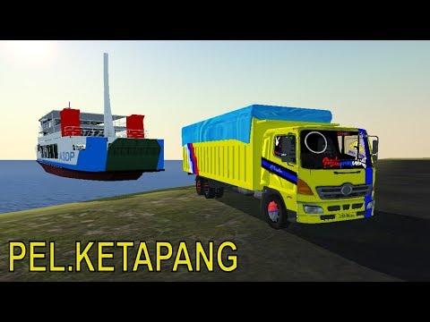 Truk Hino Tronton Naik Kapal Madura Banyuwangi | IDBS Game Truck Simulator Android
