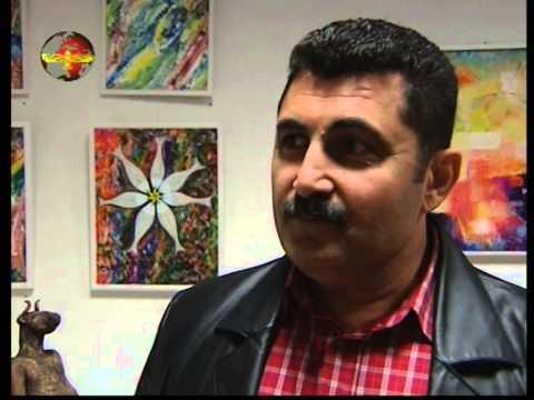 SURYOYO SAT  Art exhibition in Katto Galleri Five artists from Syria 2007 Stockholm Sweden Arabic