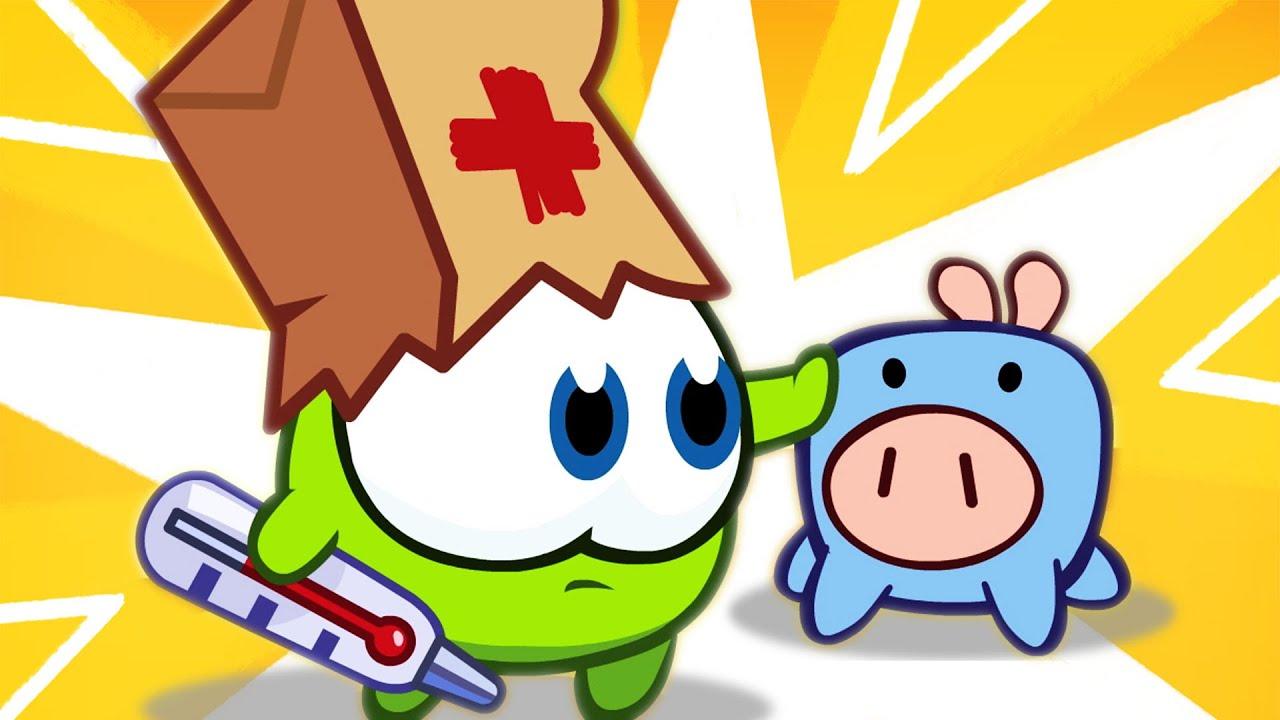 Baby Om Nom - Giochiamo al Dottore ed altre avventure! | Compilation cartoni