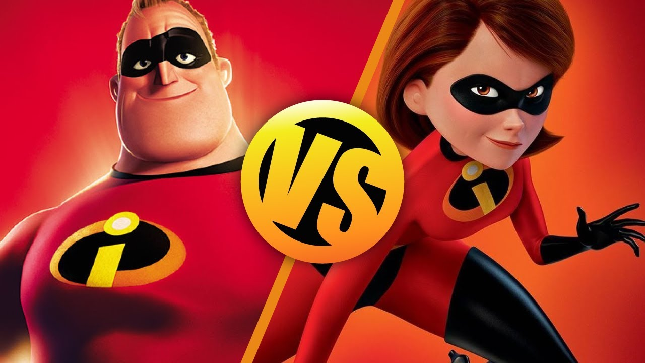 The Incredibles VS Incredibles 2 : Movie Feuds