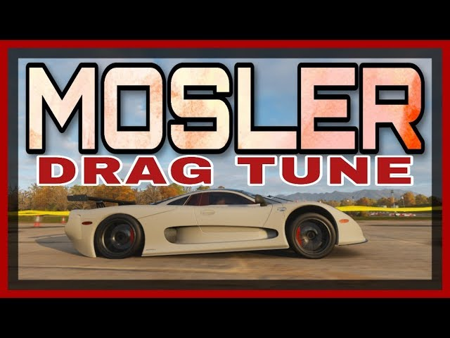 Mosler Mt900s Drag Tune Guide Forza Horizon 4 Youtube