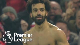 Mohamed Salah wraps up the win for Liverpool aginst Man United | Premier League | NBC Sports