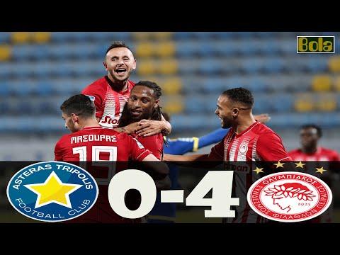 Αστέρας Τρίπολης - Ολυμπιακός 0-4 Στιγμιότυπα 6.01.2021